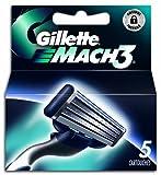 Gillette Mach 3 Ricarica - 5 Pezzi immagine