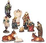 Krippenfiguren 11teiliges Set 14,5 cm Krippe Weihnachten