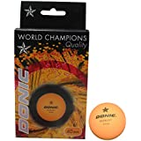 DONIC 1 Star Table Tennis Ball (Pack of 6)