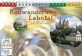 Radwanderweg Lahntal: Von der Quelle bis zur Mündung. 15 Topographische Karten 1:75000