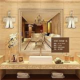 YL-Light LED-Spiegel Scheinwerfer Badezimmer Retro American Badezimmer Spiegel Kabinett Lichter Kreative Toilette Make-up Beleuchtung, a Head