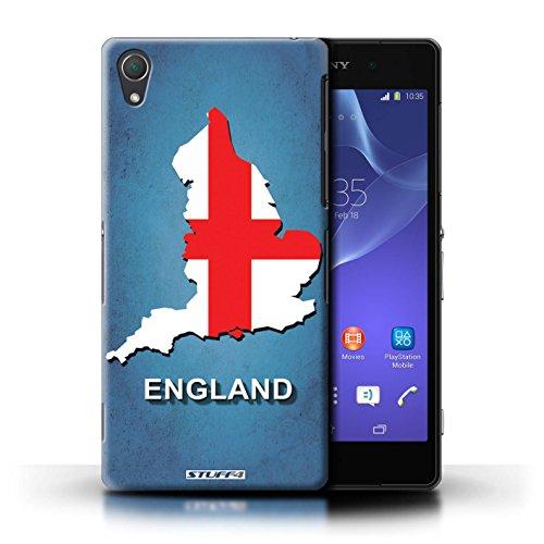 Kobalt® Imprimé Etui / Coque pour Sony Xperia Z2 / Russie/Russe conception / Série Drapeau Pays Angleterre/Anglais