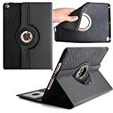 Tablet Case for iPad 3 9.7 Inch,Avril Tian 360 Degrees rotación Función atril magnética con ranuras para tarjetas Smart Protector de pantalla desmonta