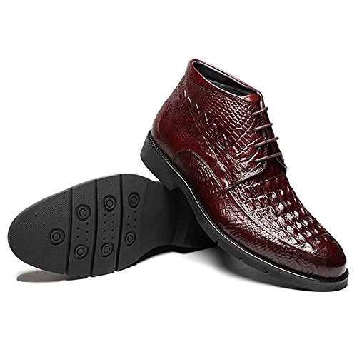 SONGYUNYAN Malanda hommes de cuir crocodile fait Boot , 1 , 39 2