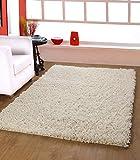 #6: Centra Home Paper Shag.. Handmade Rug Carpet Make You feel Elegance, Soft & Rich 3.6x5.6ft Vanilla