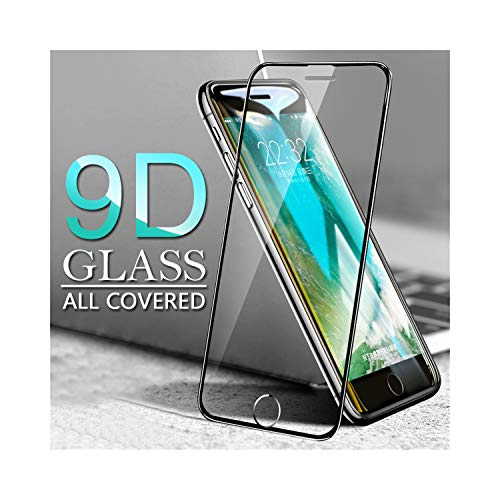 Vikimen Film aus gehärtetem Glas, Protective Glass for iPhone 7 Screen Protector Glass for iPhone 6 6S 7 8 Plus X XS Tempered Glass On The for iPhone 7 8 6S Film for iPhone 8 White - Screen Xl Protector 6 Iphone