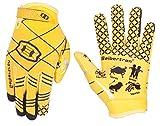 Seibertron Pro 3.0 12 Constellation Elite Ultra Stick Sports Américain De Receveur/Receiver Gloves/Gants De Football Jeunes et Enfants (Jaune, S)