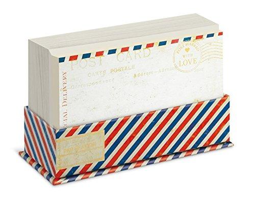 Preisvergleich Produktbild Flat Notes: Airmail – Briefkarten mit Kuverts für vielfältige Anlässe: Luftpost: 50 ansprechende Karten mit den passenden Umschlägen