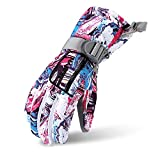 MINNOMO Bunte Flut Ski Unisex Handschuhe Breathable Protection