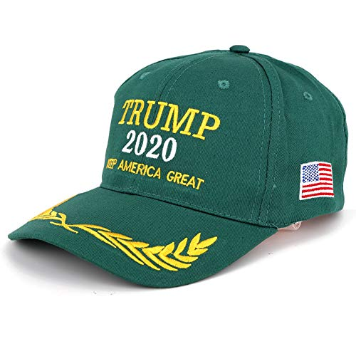 mp 2020 Make America Great Again Slogan with USA Flag Cap Adjustable Baseball Hat Camouflage hat(18) ()