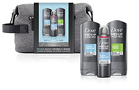 Dove Men+Care Geschenkset Clean Comfort mit Washbag, 1er Pack