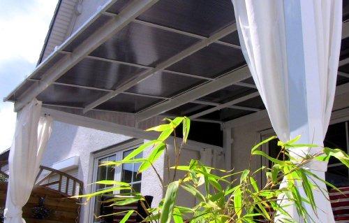 Leco Terrassenüberdachung mit Doppelstegplatten - 2