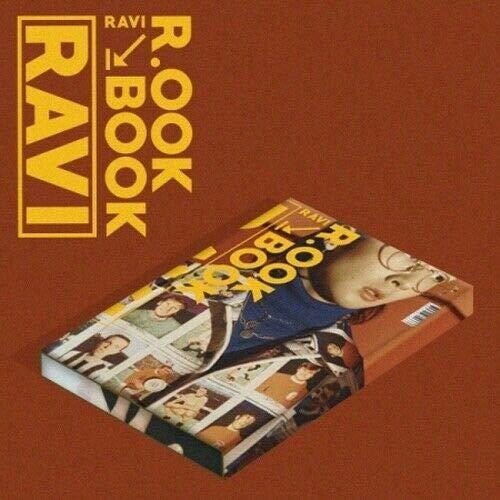 Ravi VIXX [R.OOK Book] 2nd Mini Album Kihno Kit+30p PhotoCard+4p Postcard+Tracking K-Pop Sealed