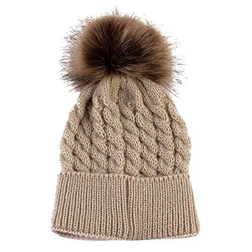 Sonne Baby Mütze Hut Warme Wollmütze Coif Wintermütze -