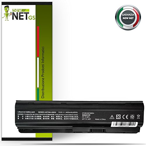 BATTERIA NEWNET PER HP 10.8 - 11.1 V 4400 mah G6-1010EA G6-1010SA G6-1010TX G6-1011SG G6-1011TX (1021sa Batteria)