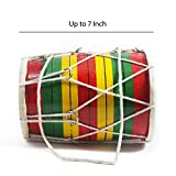 7 Years Old Kids Playing Hand Drum Mini Dholak | Indian Folk Musical Instrument | Handmade Crafted | Best Authentic Gift For Christmas, Kids Birthday Gift or Multi Occasion Gift