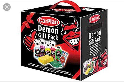Price comparison product image Carplan DGP001 Demon Pack 7 Pieces Car Shampoo Cleaner Sponge Air Freshener