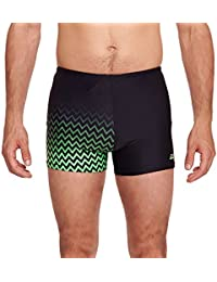 Zoggs Men's Chevron Hip Racer Swimsuit
