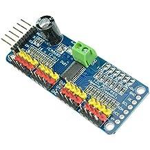DaoRier PCA9685 16 Kanal Channel 12 Bit PWM Motor Treiber IIC Schnittstelle I2C Modul für Arduino Roboter