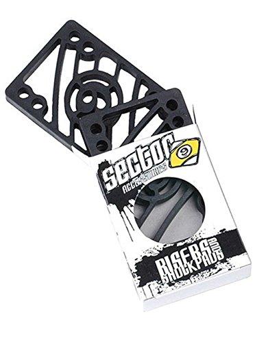 Skateboard Zubehör Sector 9 Riser Pad Shock Pads (1/8 Riser) *Set Of