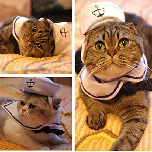 Broadroot Disfraz de Gato Traje de Marinero...