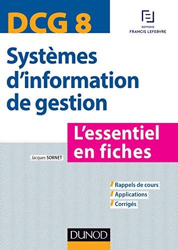DCG 8 - Systèmes d'information de gestion - L...