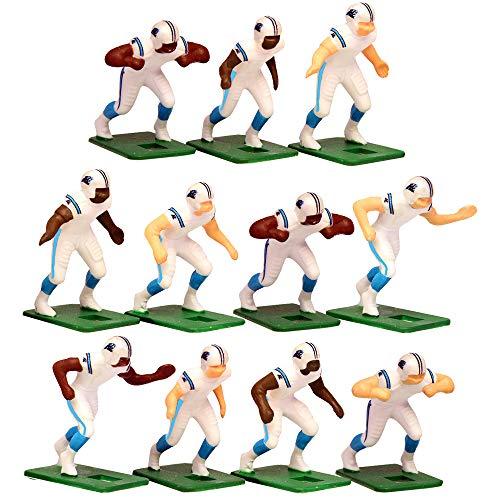 Carolina Panthers?White Uniform NFL Action Figure Set by Tudor Games