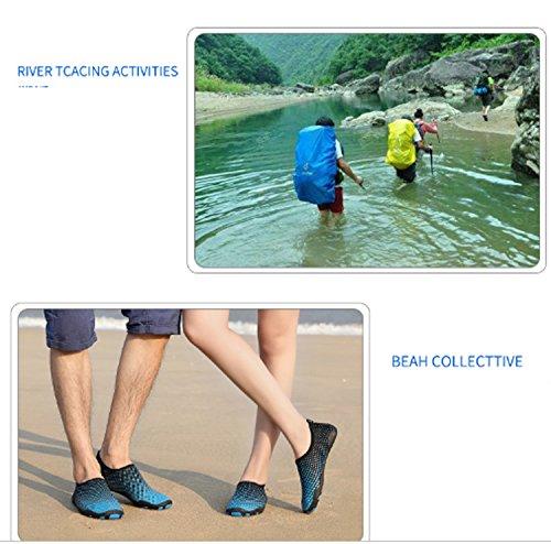 Scarpe da donna Scarpe da passeggio antiscivolo Scarpe da nuoto da sub Scarpe sportive con la suola morbida Summer Gym Yoga Yellow