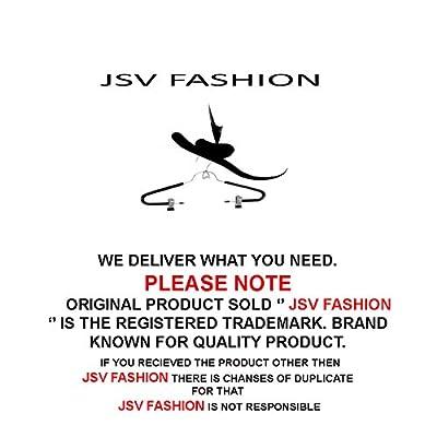 Jsv Fashion Women's Georgette Kurta (vintage black__Black_Free Size) - Black • Occasion : Casual Wear , PartyWear
