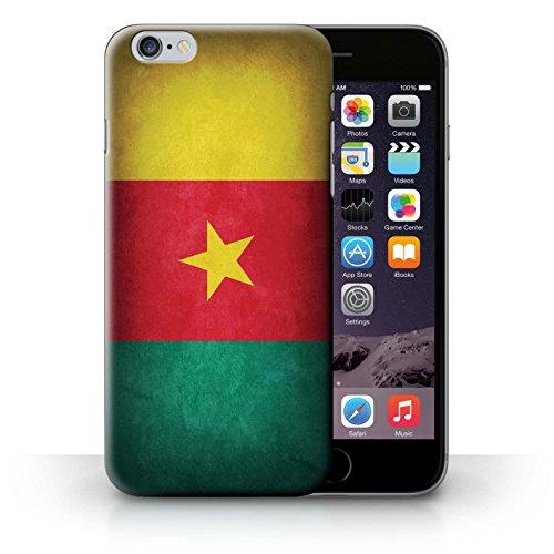 Coque en plastique pour iPhone 6+/Plus 5.5 Collection Drapeau - Suisse Cameroun
