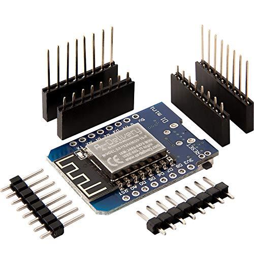 AZDelivery D1 Mini NodeMcu mit ESP8266-12F WLAN Module für Arduino inklusive E-Book!