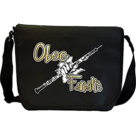 Oboe Fanatic - Sheet Music Document Bag Borsa Spartiti