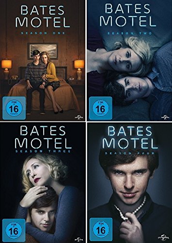 Bates Motel - Season One, Two, Three & Four im Set - Deutsche Originalware [12 DVDs] (Staffel 3 Bates Motel)