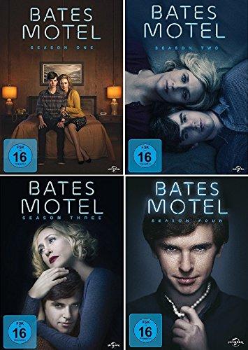 Bates Motel - Season One, Two, Three & Four im Set - Deutsche Originalware [12 DVDs] (Staffel Motel 3 Bates)