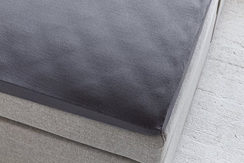 spannbettlaken boxspringbett premium anthrazit 190g m stegh he 40 cm spannbett tuch. Black Bedroom Furniture Sets. Home Design Ideas