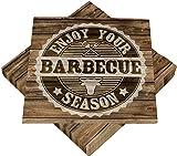 Heku 30243-133 100 Servietten, 3-lagig, Barbecue Season