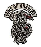 Sons of Anarchy Reaper Logo Road Gear Aufnäher Patch