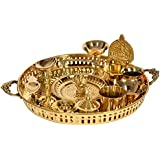 Exotic India Puja Thali - Brass