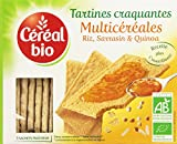 Céréal Bio Tartines Croquantes Multicéréales Riz Sarrasin & Quinoa 3 Sachets Fraicheurs 145 g