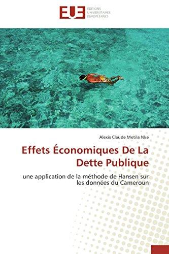 Effets économiques de la dette publique