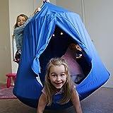 HappyPIE Wasserdicht Hängesessel Hängehöle Hammock Kinder Schaukelstuhl (Blau)