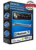 Citroen C4deh-4700bt estéreo del coche, USB, CD, MP3AUX en kit bluetooth