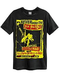Official Amplified Grey Vintage T Shirt Sex Pistols JAPAN Tour All Sizes
