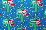 Designerbaumwolle Baumwollstoff Christmas Lovebirds