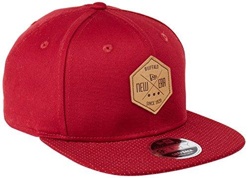 new-era-hex-patch-maroon-snapback-cap-kappe-9fifty-950-m-l-basecaps-mens