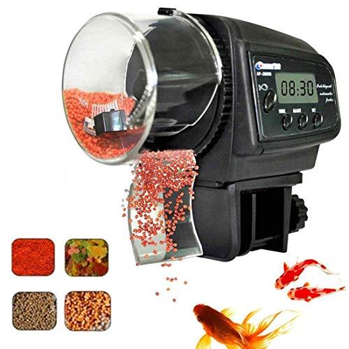 Fish Feeder Aquarium Tank Elektronische Kunststoff Regular Automatische Fisch Lebensmittel Fütterung Spender für Home Office