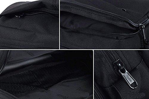 Outdoor peak Oxford Tarnung Herren Damen Hüfttasche Gürteltasche Bauchtasche Tactical HandTaschen Bergsporttasche Männer und Frauen Fahrrad tragbaren Taschen Messenger Bag Sport für Handy, Schlüssel,  Schwarz