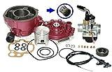 Unbranded 90ccm Tuning Zylinder KIT VERGASER 21mm + S6 50cm für RIEJU RJ RV 2T 50 AM6 Zylinderkit