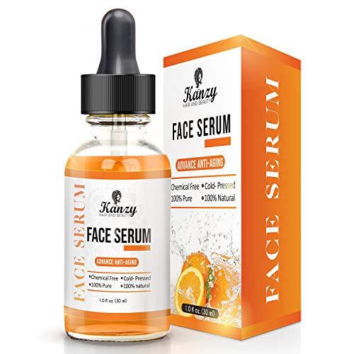 Serum Facial con Vitamina C + Acido Hialuronico | suero para Anti Edad y Anti Arrugas.