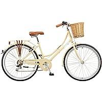 "Viking 2018 Belgravia Ladies Traditional Heritage 26"" Wheel 6 Speed Bike Latte"